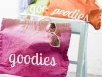 Colorful Goodies DIY Ombré Tote
