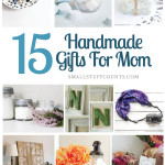 mother's day diy gift collage