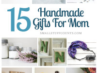 15 Beautiful DIY Gift Ideas For Mom