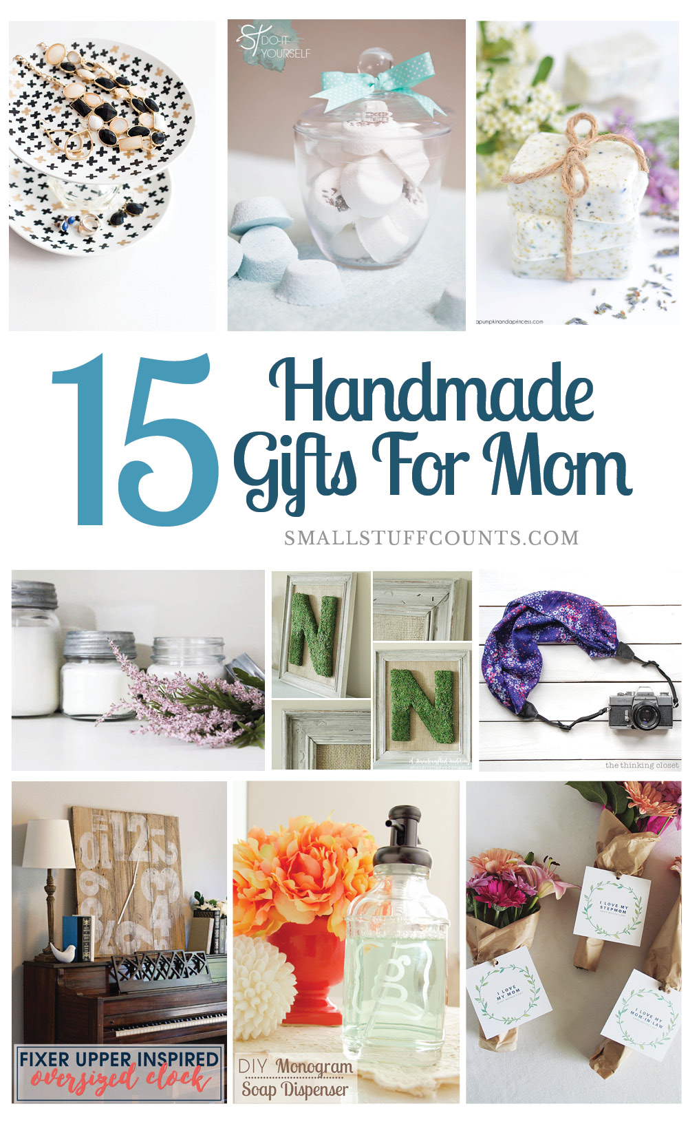 easy diy gifts for mom | www.marnicks