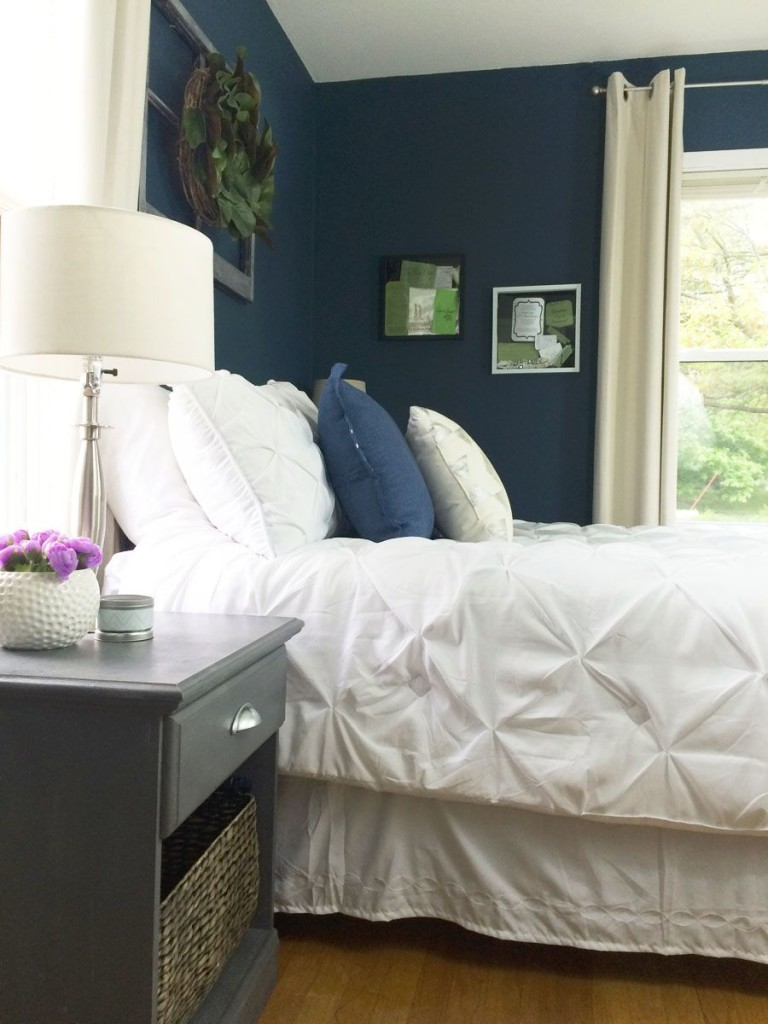 Navy bedroom - D. Lawless Hardware