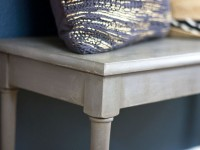 Grey Painted Piano Bench – A Thrift Store Makeover