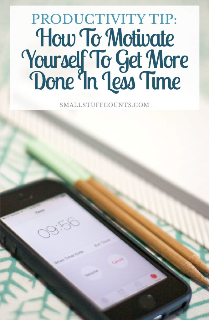 Genius productivity tip! Super simple but I can definitely see how it would help me stay focused on check off those to-dos. I'm going to try it out and see if it motivates me to get more done.