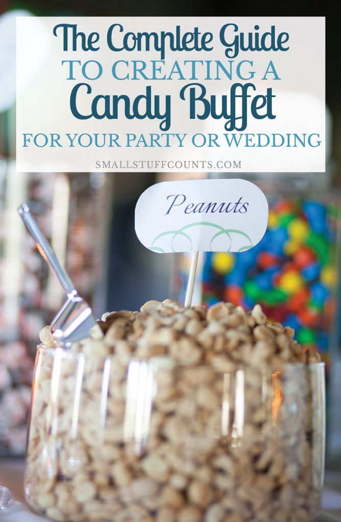Such good ideas for a candy buffet for our wedding or our next party. Love these tips! And the printable checklist is super helpful.