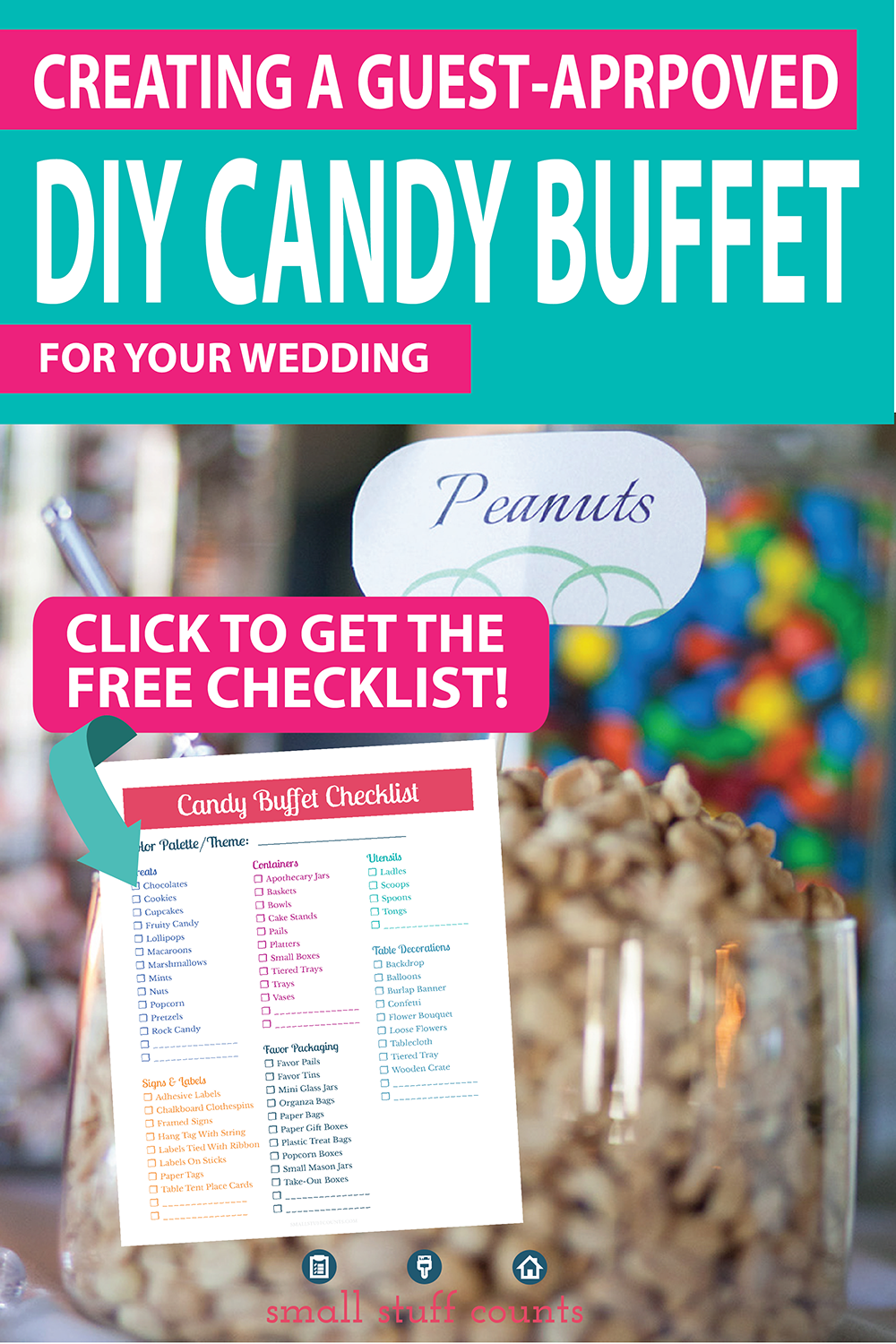 Astonishing The Complete Guide To A Diy Candy Buffet For Your Party Or Beutiful Home Inspiration Xortanetmahrainfo
