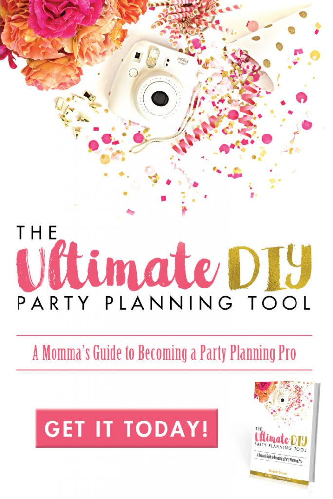 Does party planning have you feeling overwhelmed? Take the guesswork out of it using the tips and printables including in the Ultimate DIY Party Planning Tool Ebook.
