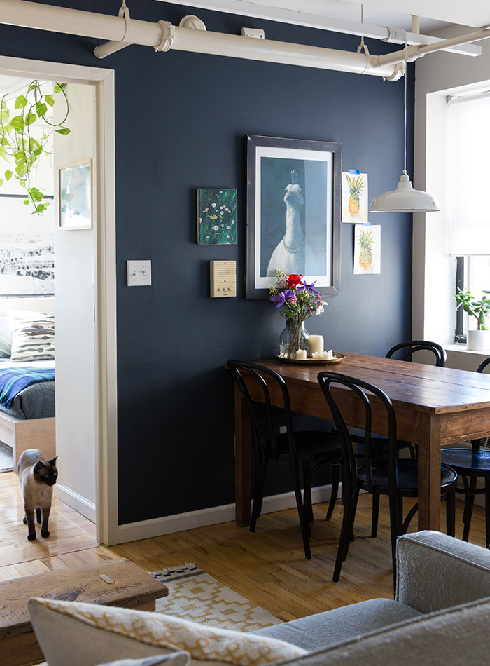 best navy blue paint color9 Striking Navy Blue Paint Colors For Your Room Makeover