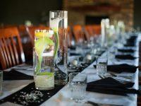 Elegant Wedding Table Decor On A Thrift Store Budget