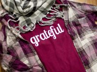 DIY Grateful Shirt Perfect For Thanksgiving {Silhouette HTV Project}