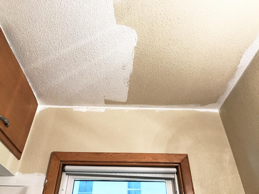 Bathroom Ceiling White Vs Beige