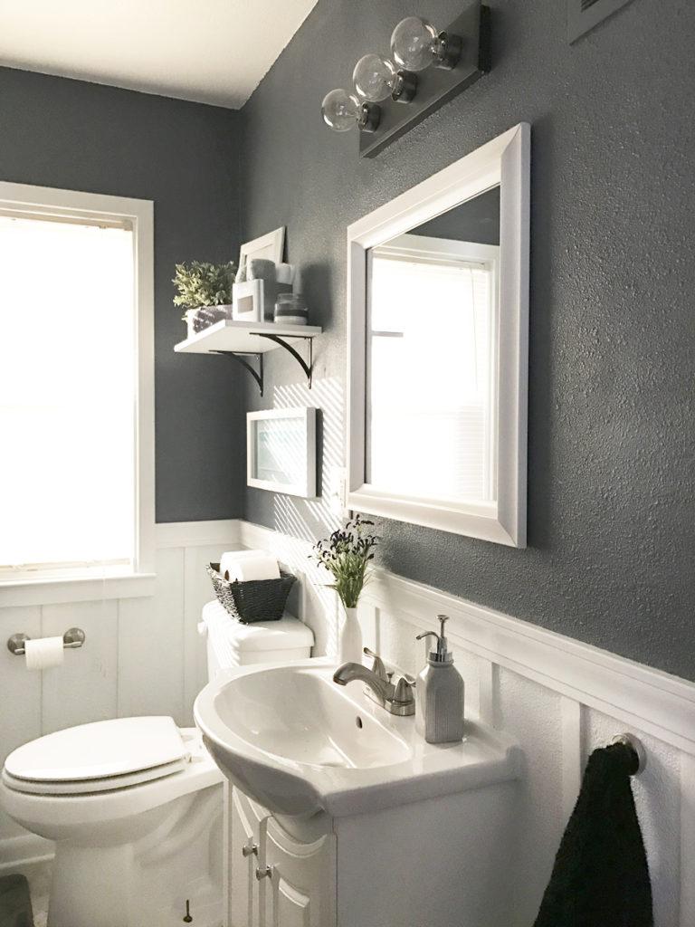 Take The Tour: Neutral Calm Bathroom Reveal on Small Bathroom Ideas Pinterest id=12585
