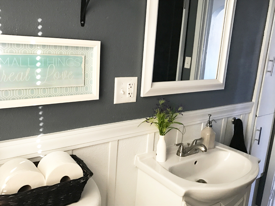 Frame A Builder Grade Mirror The Easy Way With Mate