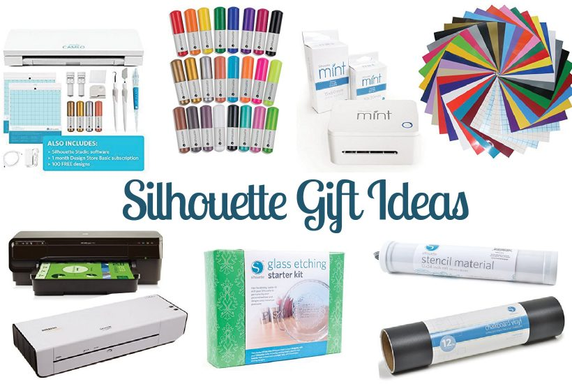 This list is full of must haves and fun extras for the Silhouette Portrait or Cameo crafter. If you are a Silhouette addict or if you are shopping for one, here's a guide to some great Silhouette gift ideas.