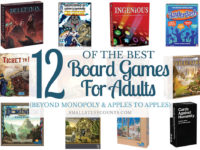 12 Of The Best Board Games For Adults (Beyond Monopoly & Apples to Apples)