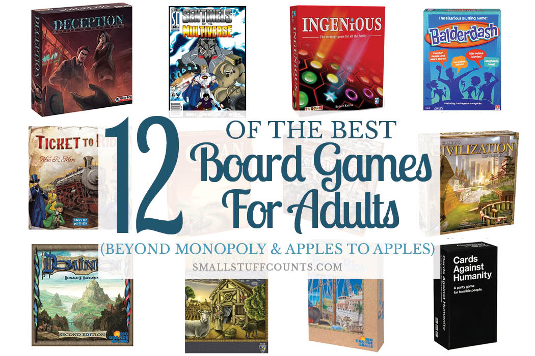 adult board game ideas
