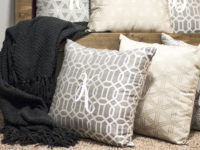 DIY Monogram Pillows Made With A Silhouette