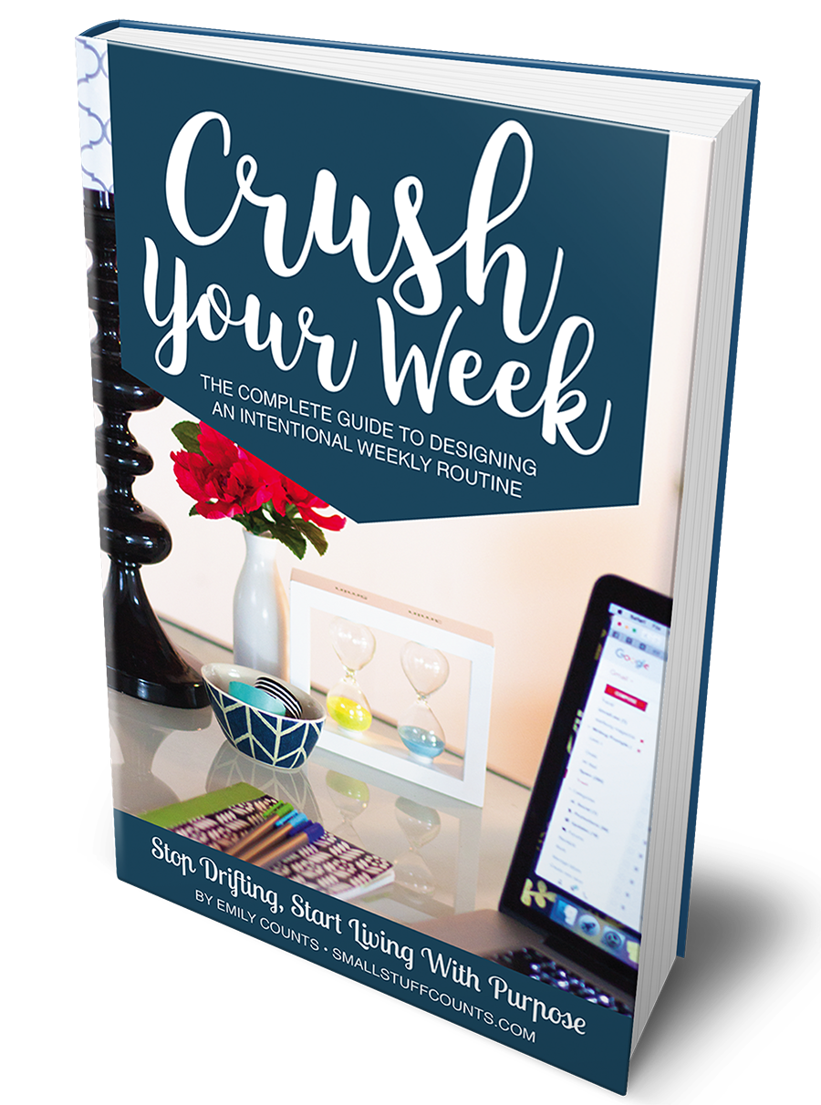 Crush Your Week Book Cover