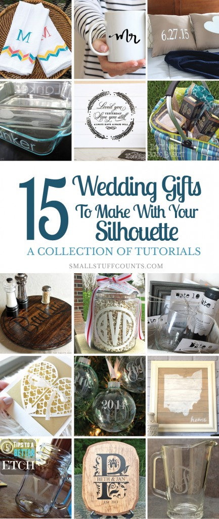 Silhouette Wedding Gifts Feature
