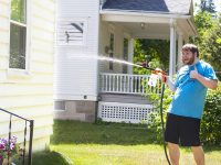 Washing Your House Exterior Without A Pressure Washer (Siding, Gutters, Windows, Pavement)