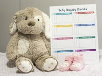 Stay Organized With A Baby Registry Checklist