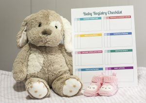 Working on your baby registry? Download this free printable baby registry checklist to track all of the things you have registered for, gifts received and supplied purchased/borrowed. This checklist is definitely going to help me stay organized!