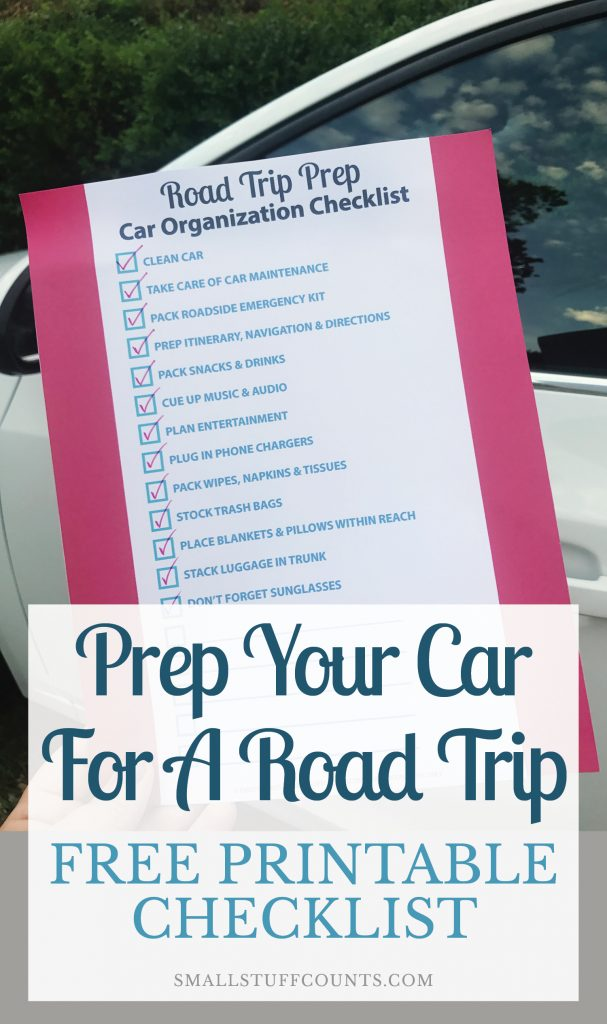 I'm headed out on a road trip and this list of tips is super helpful! Great checklist for organizing the car and preparing for the drive. Definitely downloading this free printable.