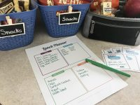Organized Lunches Packed With Love (Free Lunch Planner & Love Note Printables)