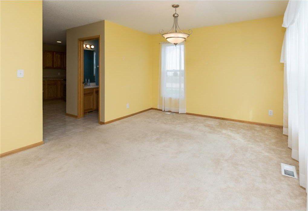 empty front living room