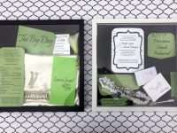 Our DIY Wedding – Preserving Memories With A DIY Wedding Shadow Box