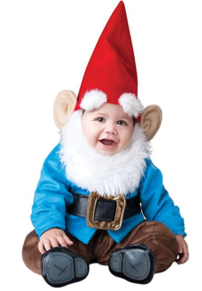 I love this cute baby costume! So many good homemade and cheap baby costumes and toddlers in this post.