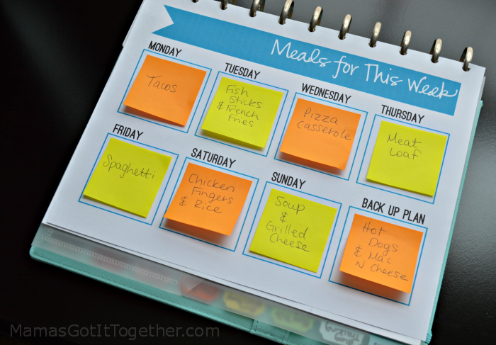 "This post has a whole list of meal planning methods! I love the variety and how simple some of these ideas are. Meal planning systems can be used by anyone no matter how ""organized"" they think they are."