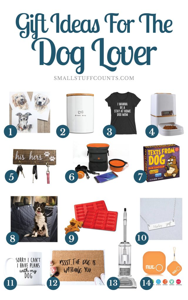 14 Dog Lover Gift Ideas For The Dog-Obsessed