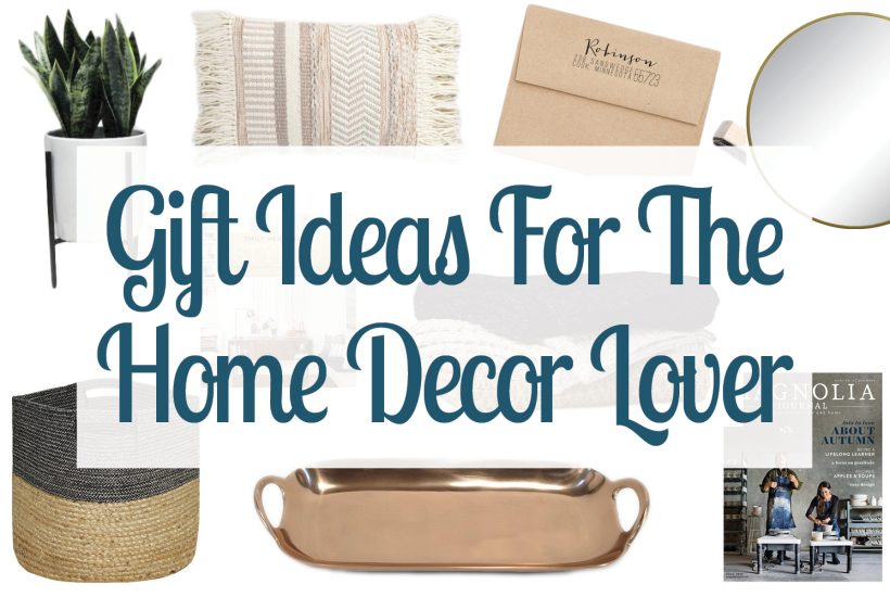 A Dozen Gift Ideas For The Home Lover