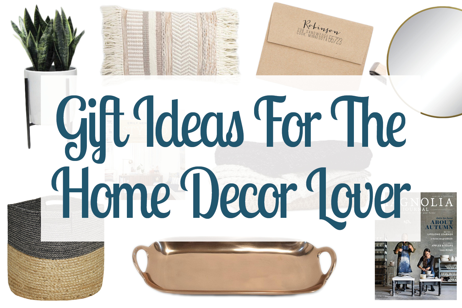 Wonderful Home Decor Gift Ideas Part - 7: Looking For Gift Ideas For A Home Lover? Check Out This Gift Guide Of Home