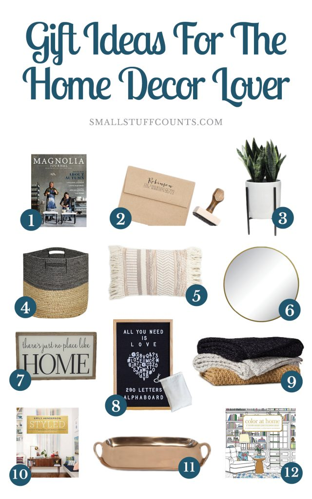 Home Decor Gift Ideas Part - 38: Looking For Gift Ideas For A Home Lover? Check Out This Gift Guide Of Home