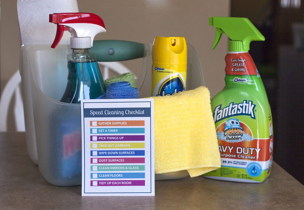 b8d68ca9c48f Cleaning your house in a hurry  Here s a free printable checklist of speed  cleaning tips