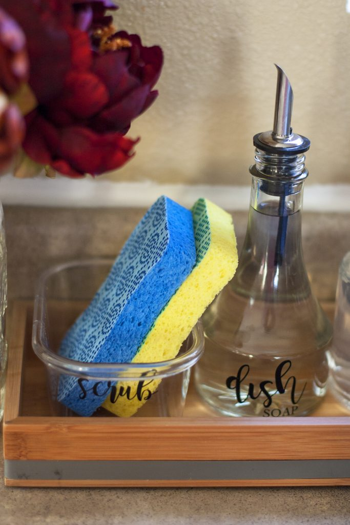 Making Cleanup Fast With An Organized Kitchen Sink Amp Diy