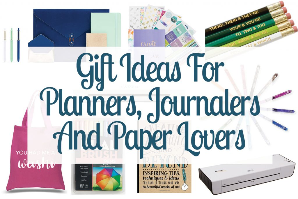 Gift Ideas For Planners Journalers And Paper Lovers Small Stuff