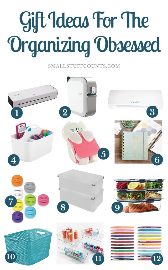LOVE these organizing gift ideas! Anyone who is obsessed with organization or office supplies will be excited about any of these gifts.