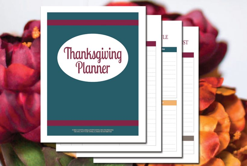 Plan Your Feast With These Free Thanksgiving Planning Printables