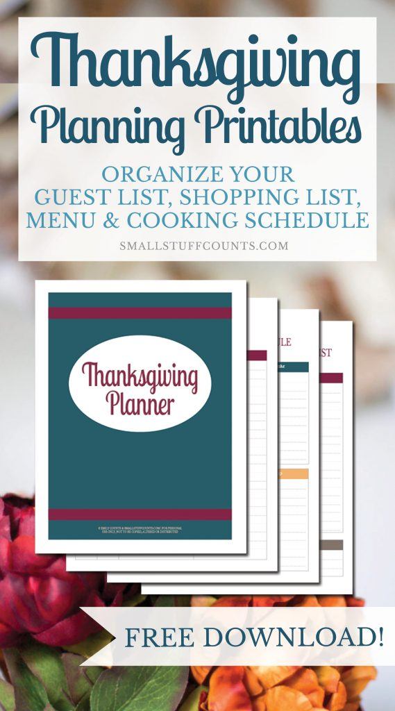Just what I need! These Thanksgiving planning printables are going to be super helpful for organizing Thanksgiving dinner this year. Love that it's this Thanksgiving planner is a free download!