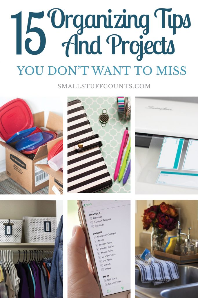 Check out these popular organizing tips! Everything from kitchens, bedrooms and paper clutter to daily routines and time management. So much good stuff here!
