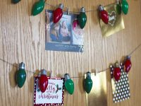 A DIY Christmas Card Display & Our Family Christmas Card