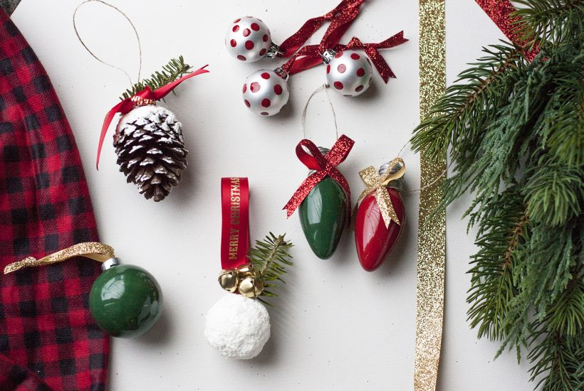 5 Easy DIY Christmas Ornaments In One Afternoon