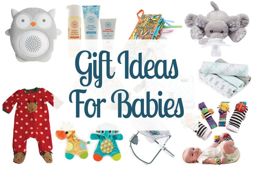 Check out this list of gifts for babies! Great variety of baby gift ideas for Christmas, baby showers and newborn gifts.