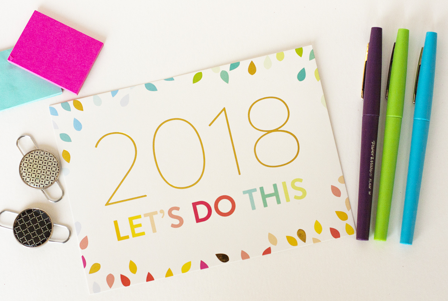 Here's my word of the year and how I'm setting goals in 2018.