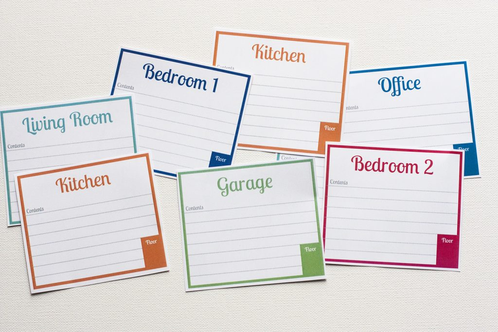 image relating to Printable Moving Labels referred to as Cost-free Printable Labels For Transferring Bins