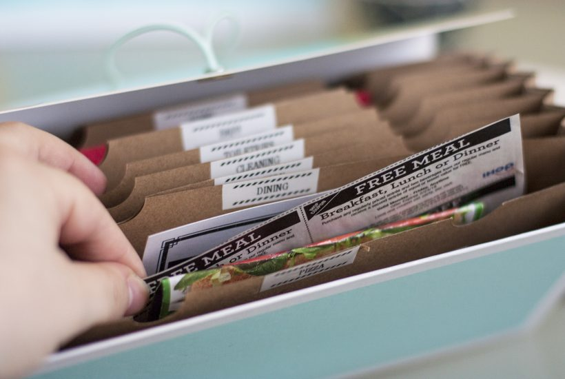 No More Paper Clutter! How To Organize Coupons In 15 Minutes