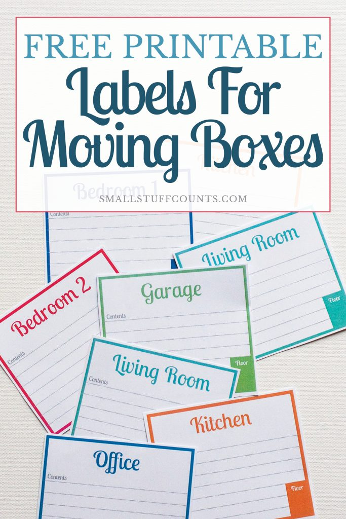 photo relating to Printable Moving Labels referred to as Cost-free Printable Labels For Transferring Bins