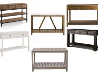 10 Affordable Wood Console Tables For An Entryway